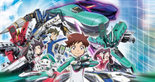 Shinkansen-Transforming Robot Shinkalion the Movie: The Mythically Fast ALFA-X That Came From Future